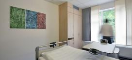 Eines der Bildmotive im Patientenzimmer des Neubaus im Siegener Kreisklinikum